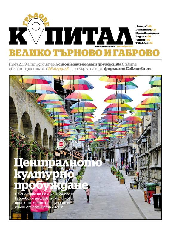 Капитал градове: Велико Търново, Габрово