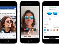Facebook пуска реклами с добавена реалност