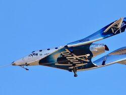 SpaceShipTwo достигна космоса за пръв път