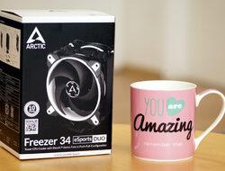 Arctic Freezer 34 eSports DUO - ефективно охлаждане без ненужни илюминации