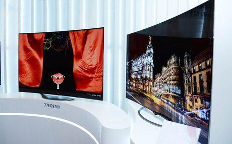 LG пуска на пазара OLED телевизорите си с 4К резолюция
