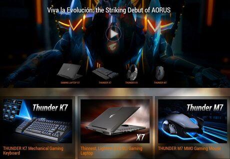 На пазара излиза нова марка за геймърско оборудване - AORUS