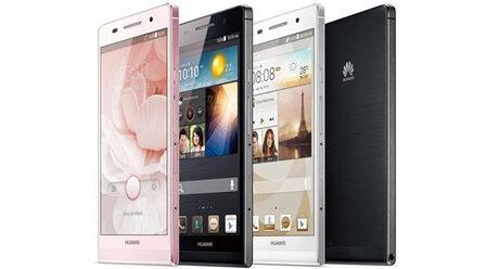 Huawei Ascend P6 е новият най-тънък смартфон на пазара