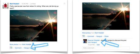 Още нововъведения в Google+