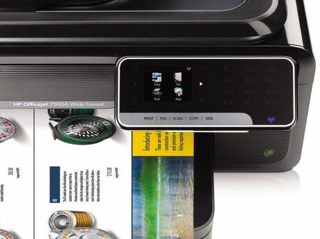 Евтина широкоформатна многофункционалка за малкия бизнес представи HP