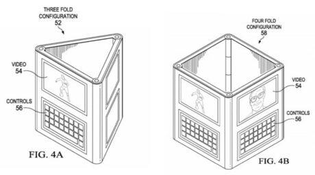 Dell с патент за сгъваемо устройство с Windows 10