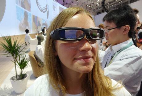 IFA 2014: Sony с нов прототип на очилата SmartEyeglasses