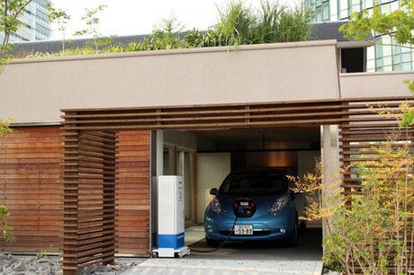 Електромобил на Nissan ще захранва дома