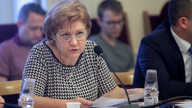 Менда Стоянова, председател на бюджетната комисия