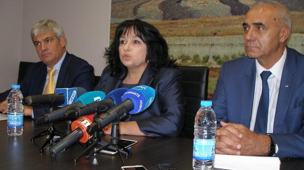 """Енергийният министър Теменужка Петкова се надява ЕК да разреши финансовата помощ за държавната ТЕЦ """"Марица-изток 2"""""""