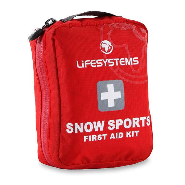 Аптечка Snow Sports Lifesystems<br />Предназначена специално за зимни спортове. Съдържа основното за овладяване на леки наранявания по писти и склонове. 44 лв., в магазини Basecamp