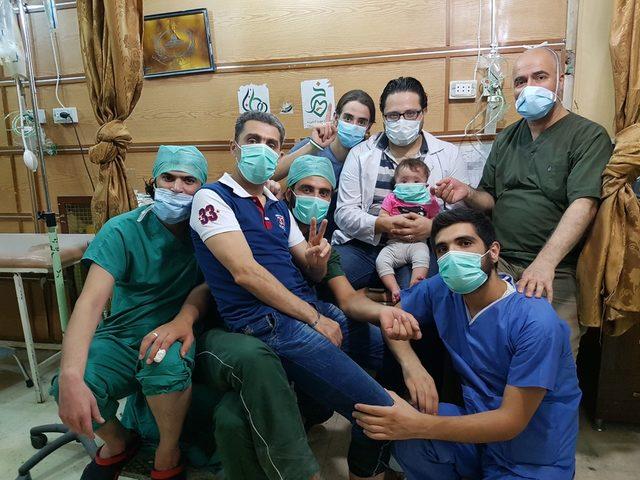 """Кадър от """"За Сама"""", филмовия дебют на сирийската журналистка Ваад Ал Катеаб"""
