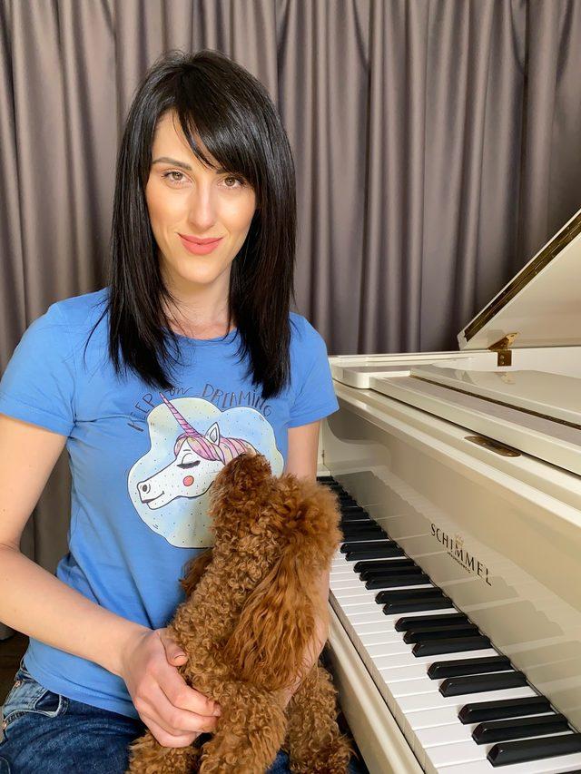 Композиторката и пианистка Мария Каракушева