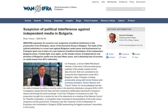 "<a href=""https://www.wan-ifra.org/press-releases/2020/06/26/suspicion-of-political-interference-against-independent-media-in-bulgaria?"" target=""_blank"">www.wan-ifra.org</a>"