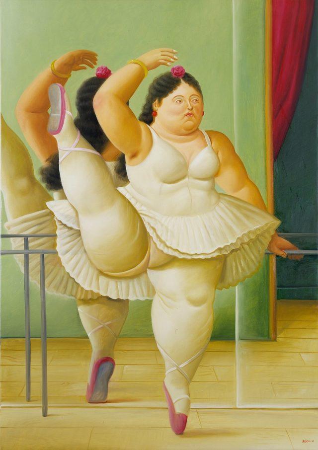Балерина до станката за балет, 2001