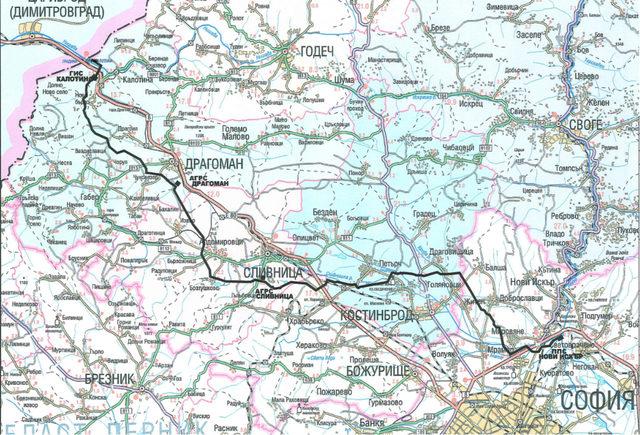 """Трасето на газопровода е дълго 62 км. и ще осигури реална диверсификация на газовите доставки, за разлика от продължението на """"Турски поток"""", което осигурява единствено транзита на руски газ към Сърбия и Унгария"""