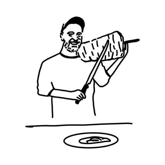 """Част от визуалната идентичност на дюнерджийницата на Ивайло Dönnerstag на ул. """"Искър"""", където по условие няма да се работи с фабрично произведени шишове със съмнително качество и произход."""