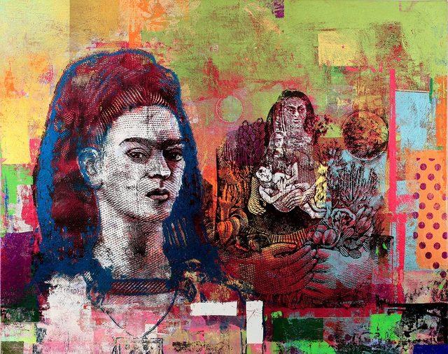 От новата изложба на Хубен Черкелов