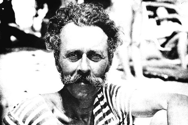 Пийт на почивка на българското Черноморие през 1970 г.