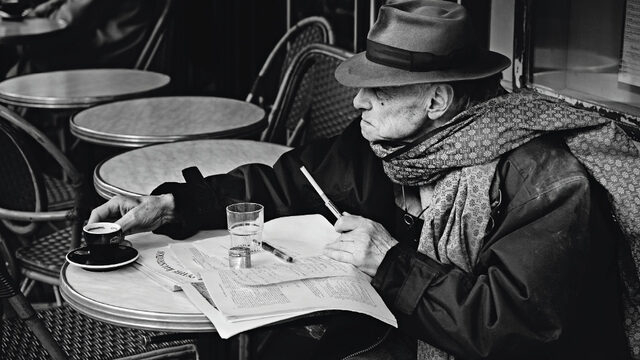 Робер Мерме, писател, 2007, Париж