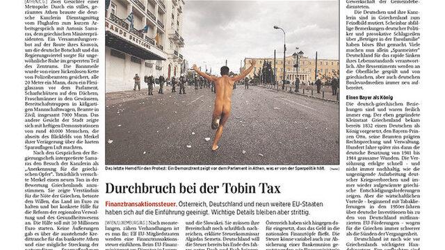 """Die Presse (Австрия): """"Истински страх от немския план за икономии"""""""