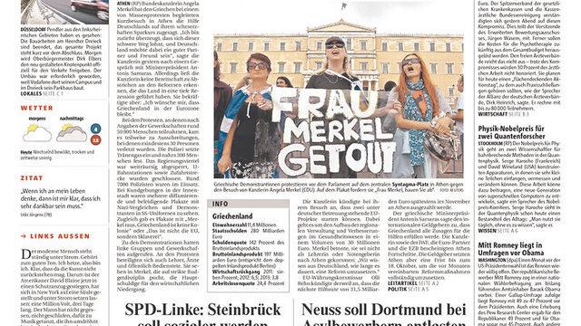 """""""Гневни протести срещу Меркел"""""""