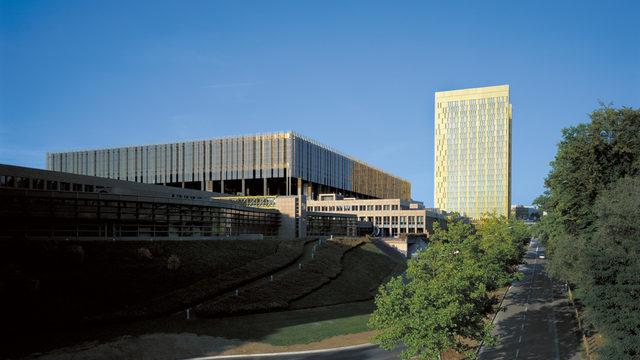 Сградата на Съда на ЕС в Люксембург