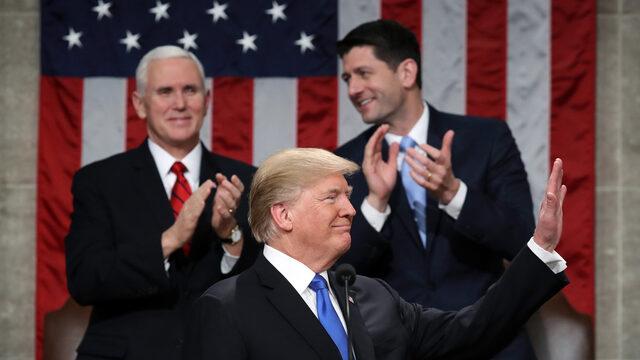 """В речта си """"За състоянието на съюза"""" американският президент Доналд Тръмп потвърди обещанието си да възстанови инфраструктурата с инвестиции от 1.5 трлн. долара"""
