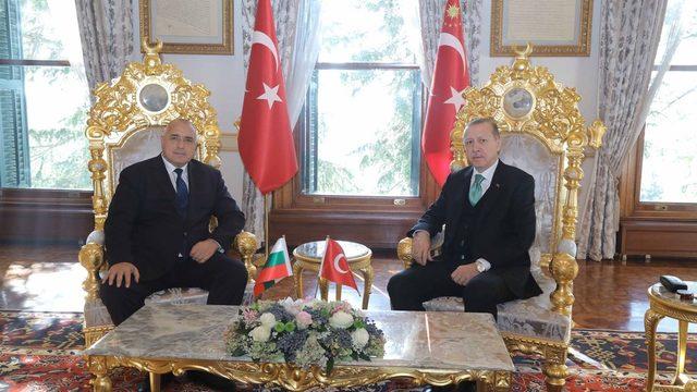 Премиерът Бойко Борисов на работна среща с Реджеп Ердоган