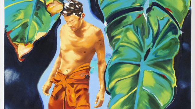 """Фрагмент от """"Тропически затвор"""" на Норберт Биски, част от изложбата """"Natura naturans / Природата в изкуството"""" в Structura"""