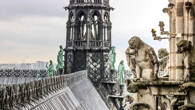 Катедралата е засегната през Първата световна война – през 1914 г. е ударена от двадесетина германски снаряда