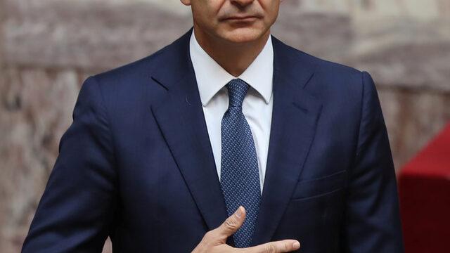 Новият гръцки премиер Кириакос Мицотакис присъства на първото заседание на новоизбрания парламент, на което 300-те депутати положиха клетва