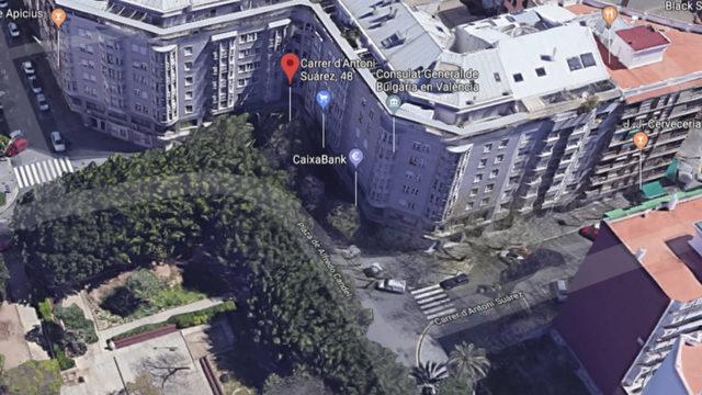 Сградата на българското консулство във Валенсия няма тераса