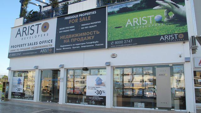 Неговата Aristo Developers Ltd Group of Companies, която е една от най-големите строителни компании и собственици на недвижими имоти в Кипър