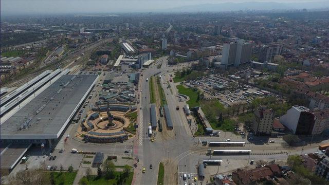 Проектът за Вторичен градски център, който ще започне да се реализира тази година.