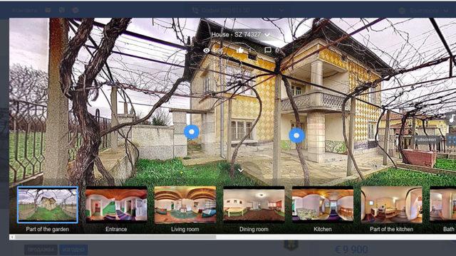 Виртуалните огледи са особено удобни за ваканционни имоти и селски къщи, пътуването до които отнема повече време