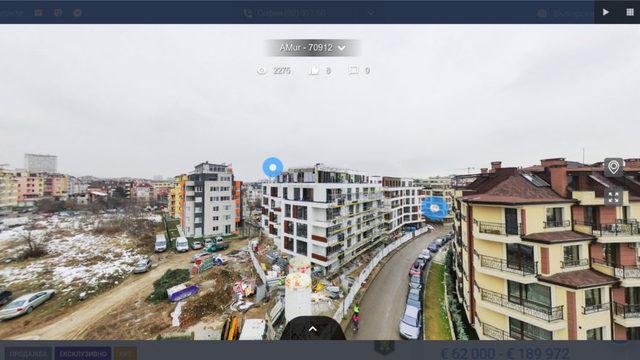 Снимките с дрон и виртуалните обиколки могат да поставят имота в контекст. Това обезсмисля криенето на реалното местоположение, информацията за което често е основен актив на брокера