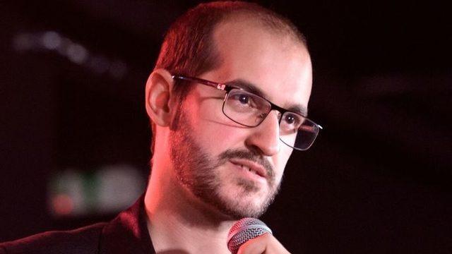 Мартин по време на премиера в София през 2019 г.