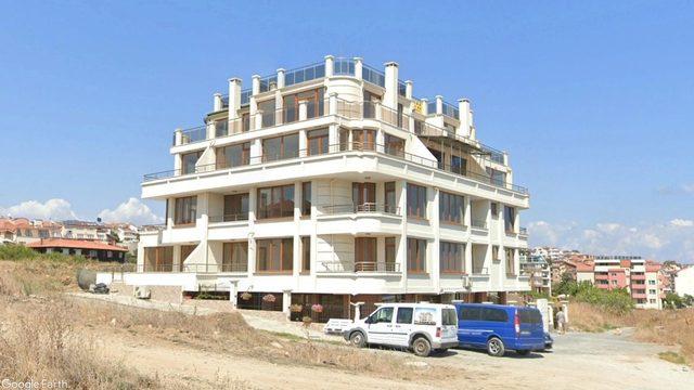 Сграда проектирана по силата на разрешената норма на закона