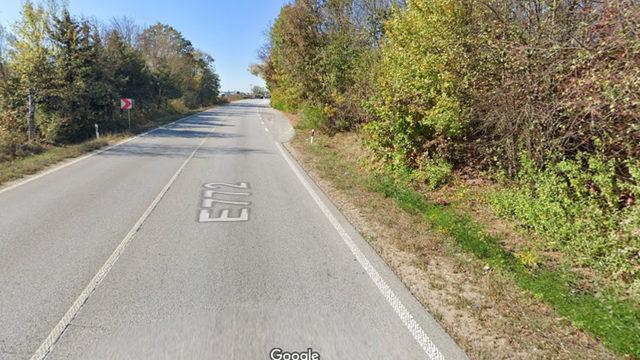 Снимката е от октомври 2019г. Знак за ограничение 70 км/ч няма