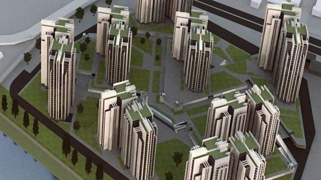 """Жилищният комплекс """"Кристал"""" (Crystal Towers) ще включва осем сгради високи по 75 м върху терен от 65 дка на северния бряг на Марица"""