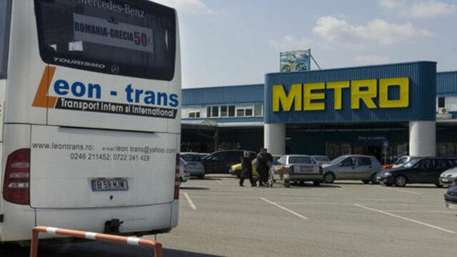 На паркинга на Метро все още могат да се видят румънски коли и автобуси<br />