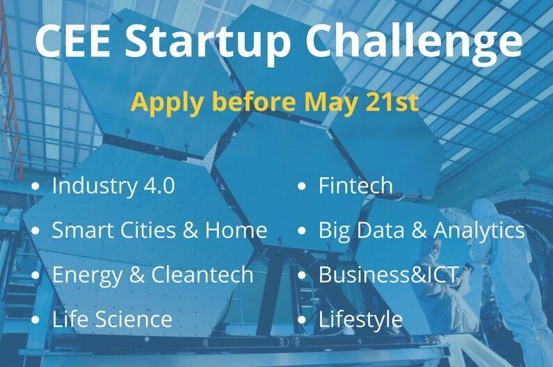 Стартира първото регионално онлайн състезание CEE Startup Challenge