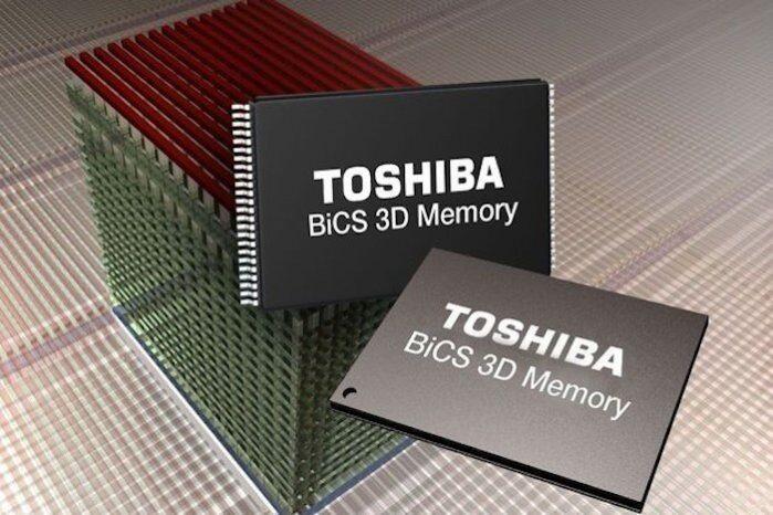 Бизнесът на Toshiba с памети привлича мнозина, включително Apple