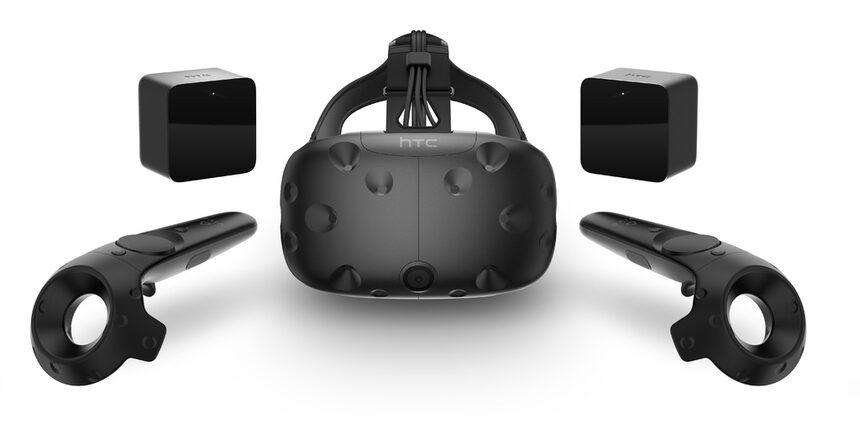 VR шлемът HTC Vive влиза у нас на 1 март