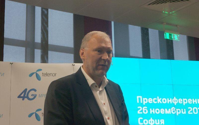 Теленор България с 1,2% ръст на приходите за Q4