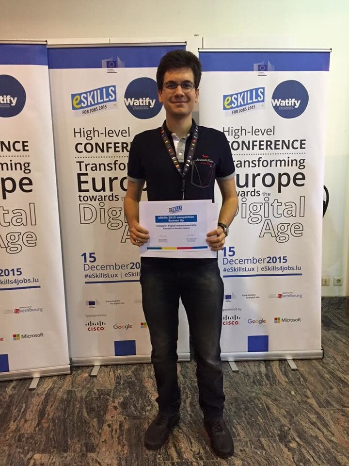 Българин е подгласник в една от категориите на eSkills Awards 2015