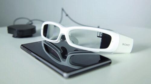 Sony показа на разработчиците прототип на SmartEyeglass