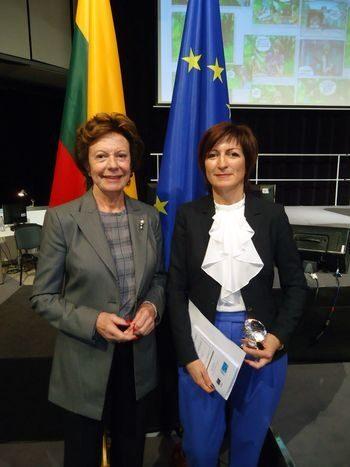 Саша Безуханова e носител на наградата Digital Woman Award за 2013