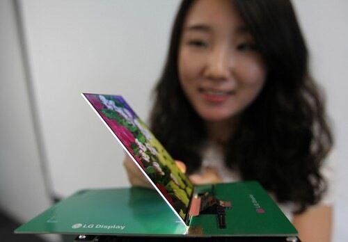 LG обяви, че е създала най-тънкия HD LCD дисплей за смартфон